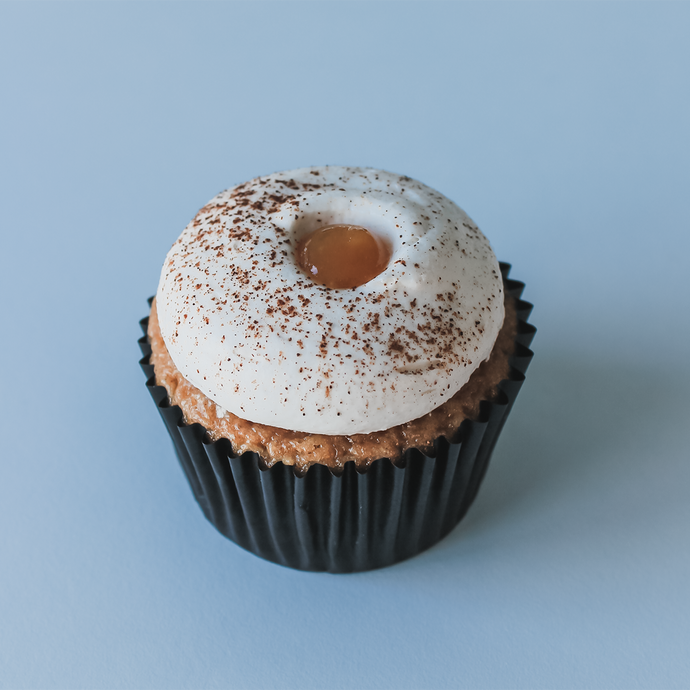 Honey Bourbon Spice Cupcake