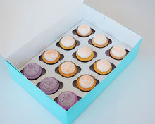Load image into Gallery viewer, Our Brunch Cupcake Assortment is perfect for all the special ladies in your life. Featuring alcohol inspired sweet treats, it's sure to be a hit! Available only at House of Clarendon in Lancaster, PA.