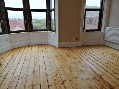 oil floor pine natural floor sanding
