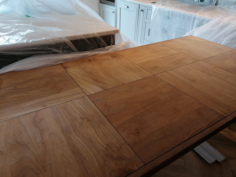 teak table worktop oil