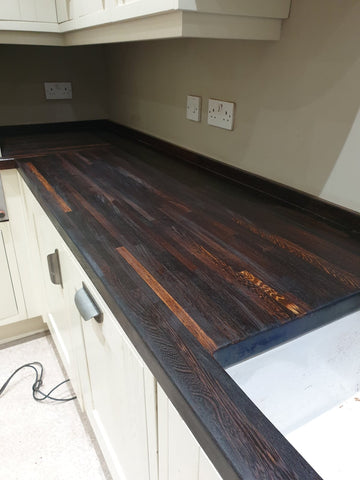 walnut natural finish oil worktop