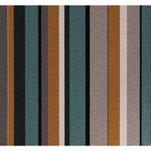 Load image into Gallery viewer, Jade Amber Grey 100% Wool Stripe Carpet