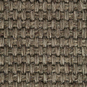 Brown Natural textured Woven Sisal Carpet