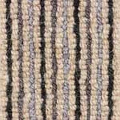 blue grey black Wool Stripe Carpet Loop