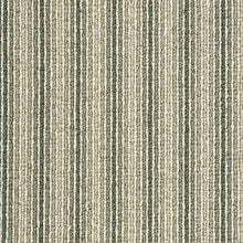Load image into Gallery viewer, Sage thin pin Stripe Wool Carpet