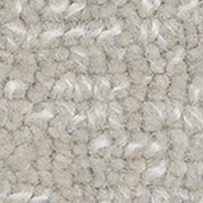 Handwoven Beige Deep Pile Loop Luxury Wool Carpet