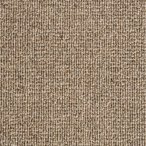 Brown textured Luxury Wool Loop Carpet