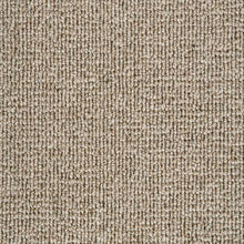 Load image into Gallery viewer, Light Brown textured Luxury Wool Loop Carpet