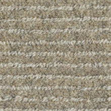 Load image into Gallery viewer, Grey handwoven horizontal line Luxury Wool Carpet