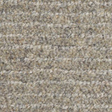 Load image into Gallery viewer, Pewter handwoven horizontal line Luxury Wool Carpet