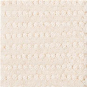 Beige White Spots Pattern 100% Wool Hande Made Woven Carpet