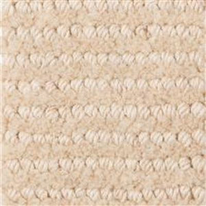 Light Brown White Spots Pattern 100% Wool Hande Made Woven Carpet
