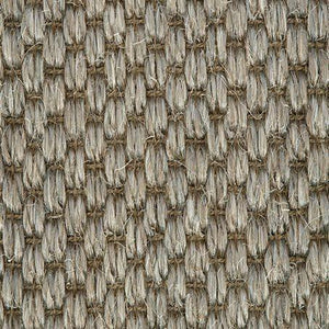 Grey textured Woven Loop Sisal Carpet