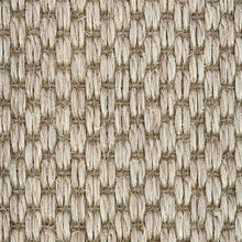 Load image into Gallery viewer, Light grey textured Woven Loop Sisal Carpet