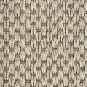 Light grey textured Woven Loop Sisal Carpet