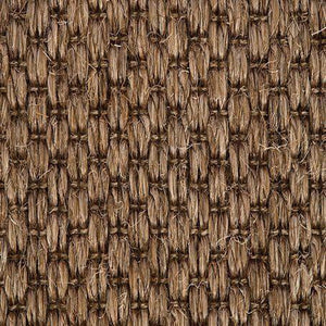 Rich Caramel textured Woven Loop Sisal Carpet