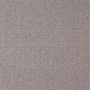 Mid Grey Natural 100% Wool Loop Carpet