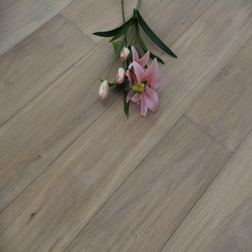 smoked white oil plank engineered oak flooring