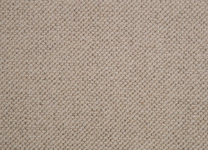 Light Brown Natural 100% Wool Loop Carpet