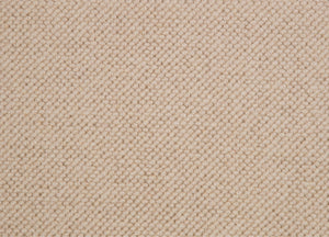 Beige Natural 100% Wool Loop Carpet