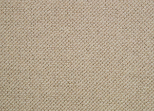 Brown Natural 100% Wool Loop Carpet