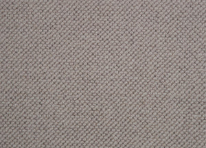 Dark Brown Natural 100% Wool Loop Carpet