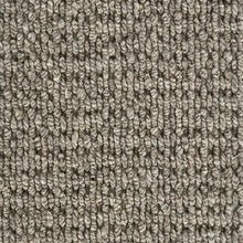 Load image into Gallery viewer, Castle Grey textured Luxury Wool Loop Carpet