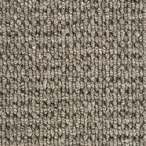 Castle Grey textured Luxury Wool Loop Carpet
