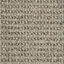 Load image into Gallery viewer, Grey textured Luxury Wool Loop Carpet