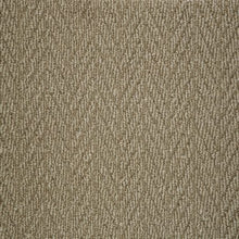 Load image into Gallery viewer, Caramel textured Natural Chevron Pattern Wool Carpet
