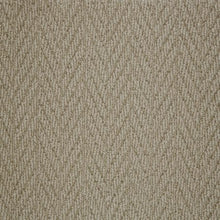 Load image into Gallery viewer, Clay textured Natural Chevron Pattern Wool Carpet