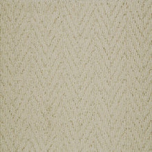 Load image into Gallery viewer, Beige coloured textured Natural Chevron Pattern Wool Carpet