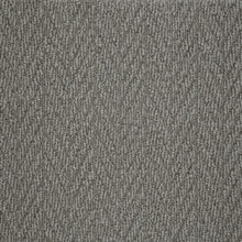 Load image into Gallery viewer, Slate textured Natural Chevron Pattern Wool Carpet