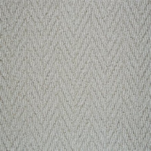 Load image into Gallery viewer, Grey textured Natural Chevron Pattern Wool Carpet