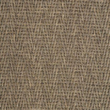 Load image into Gallery viewer, Brown Pattern 100% Natural Herringbone Weave Sisal Carpet