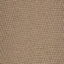 Load image into Gallery viewer, Light Brown Pattern 100% Natural Herringbone Weave Sisal Carpet