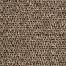 Load image into Gallery viewer, Dark Brown Pattern 100% Natural Herringbone Weave Sisal Carpet