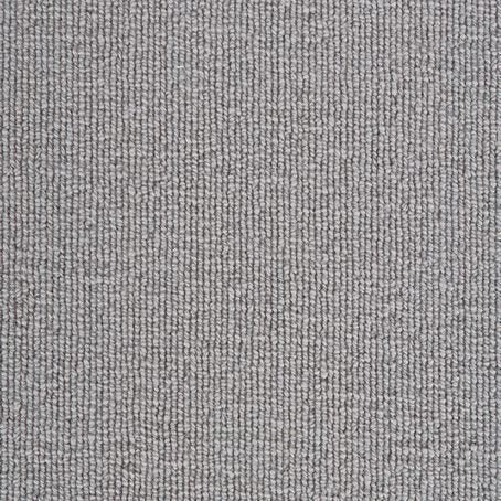 Deep Pile Loop Grey Luxury 100% Wool Carpet