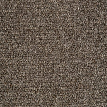 Load image into Gallery viewer, Dark Brown Natural Loop Pile 100% Undyed Wool Carpet