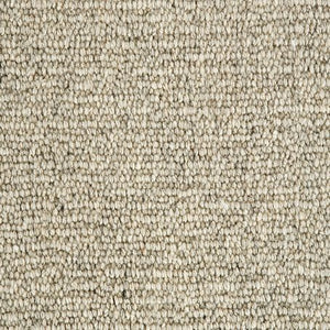 Fawn Natural Loop Pile 100% Undyed Wool Carpet