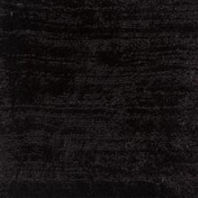 Load image into Gallery viewer, Dark Black Luxury Hand made Carpet Silk Feel 100% Tencel