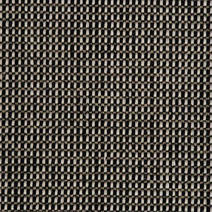 Black Two Tone Loop Pile Luxury Wool Linen Mix Carpet
