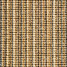 Load image into Gallery viewer, Blue Ginger natural Wool Stripe Carpet