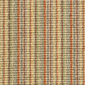 Gold Amber Natural Wool Stripe Carpet