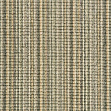 Load image into Gallery viewer, Jade Cream Natural Wool Stripe Carpet
