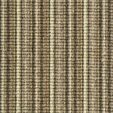 Load image into Gallery viewer, Khaki Cream Natural Wool Stripe Carpet