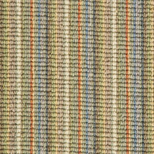 Load image into Gallery viewer, Multi Coloured Natural Wool Stripe Carpet
