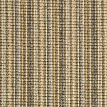 Load image into Gallery viewer, Sand Willow Natural Wool Stripe Carpet