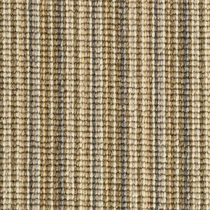 Sand Willow Natural Wool Stripe Carpet