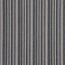 Load image into Gallery viewer, Black Sapphire Natural Wool Strip Carpet
